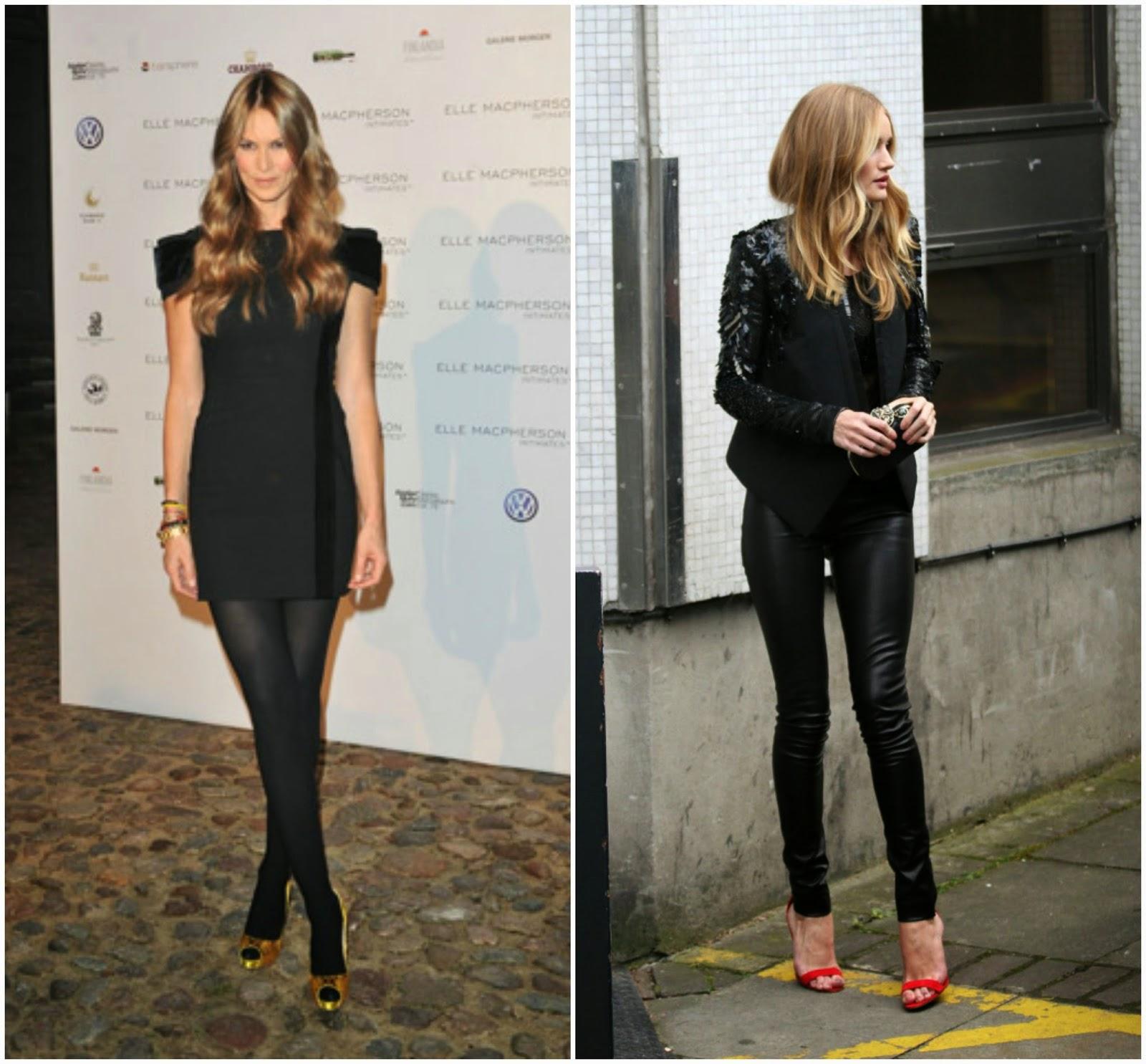 cd1752e2c vestidos con medias pantys negras