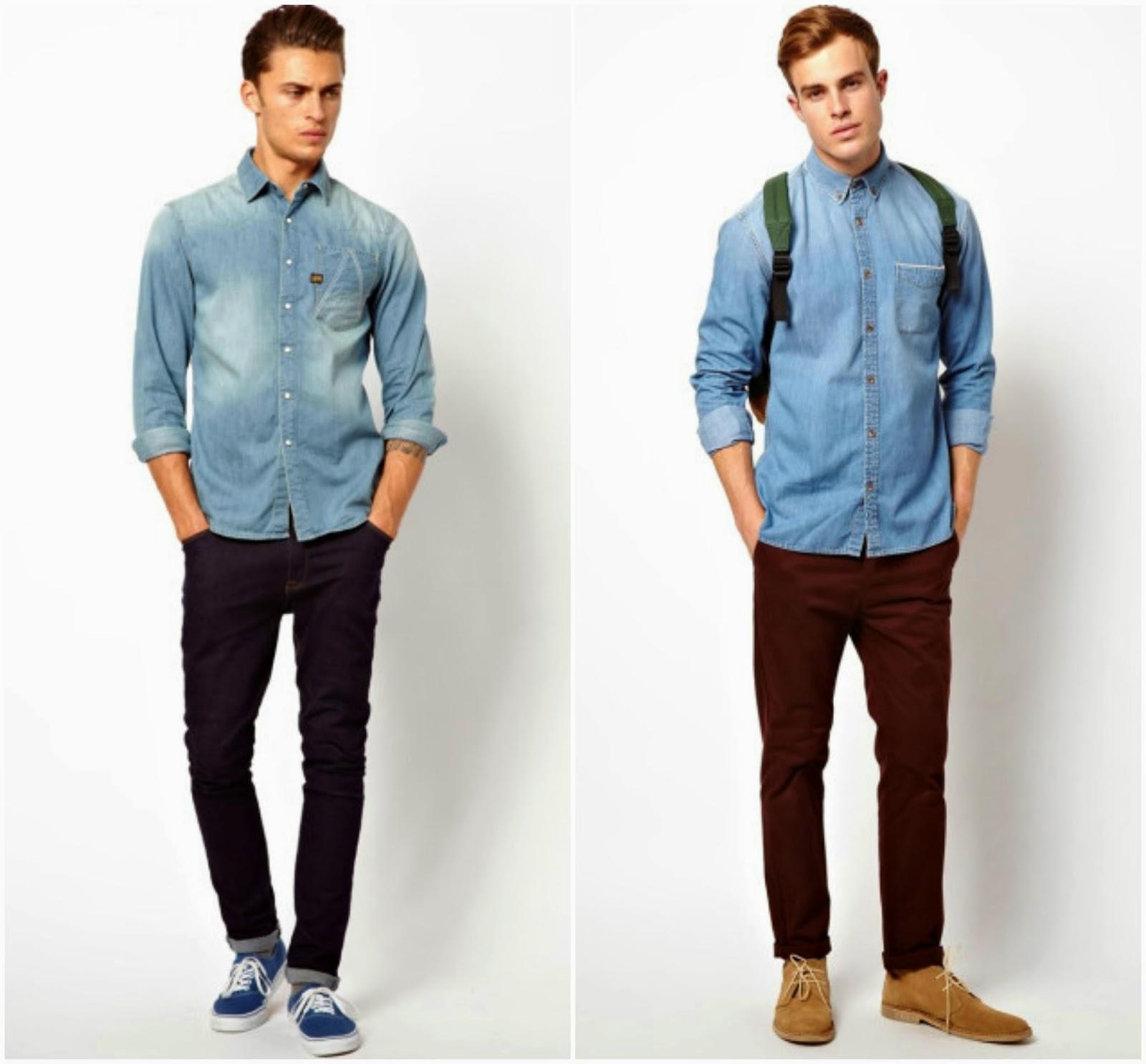 Mezclilla o denim blog de moda costa rica for Combinar camisa vaquera negra hombre