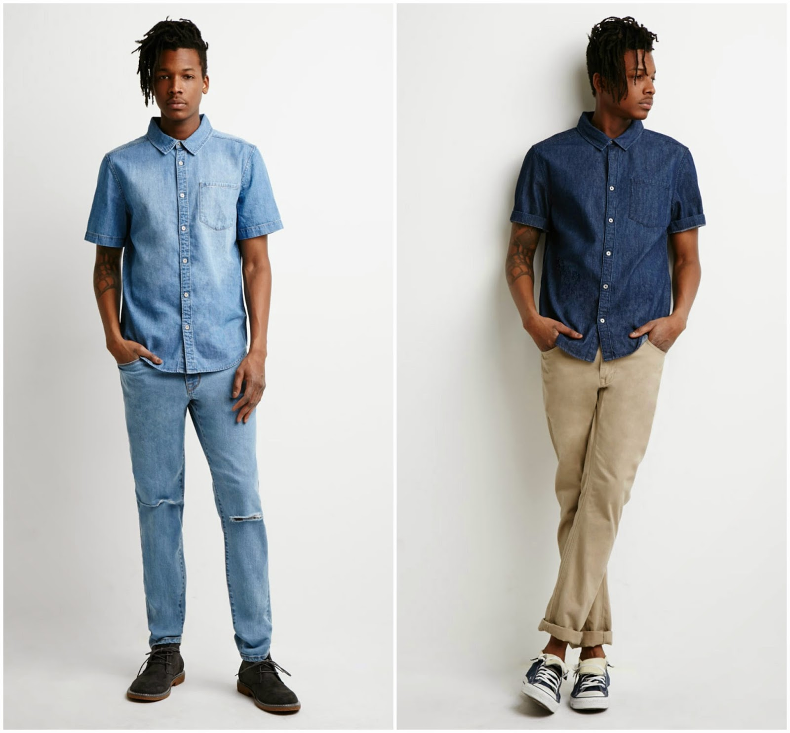 Combinar pantalon mezclilla hombre for Programa para combinar colores