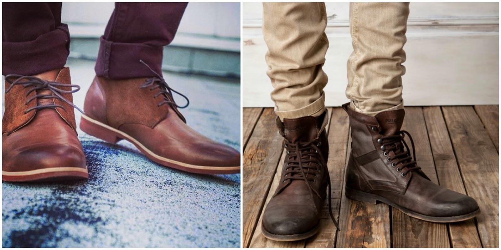 ab0209fc891cf El zapato hace al hombre  Chukkas y Botines.