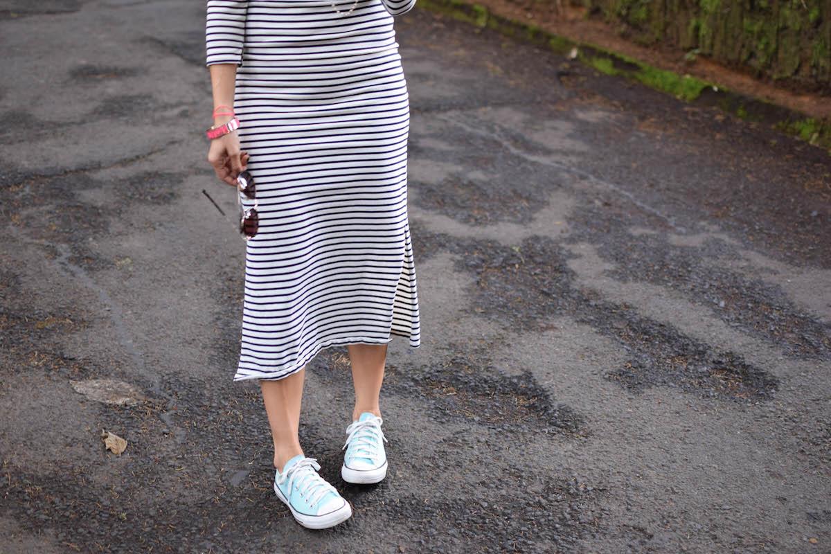 Vestido A Rayas Blog De Moda Costa Rica