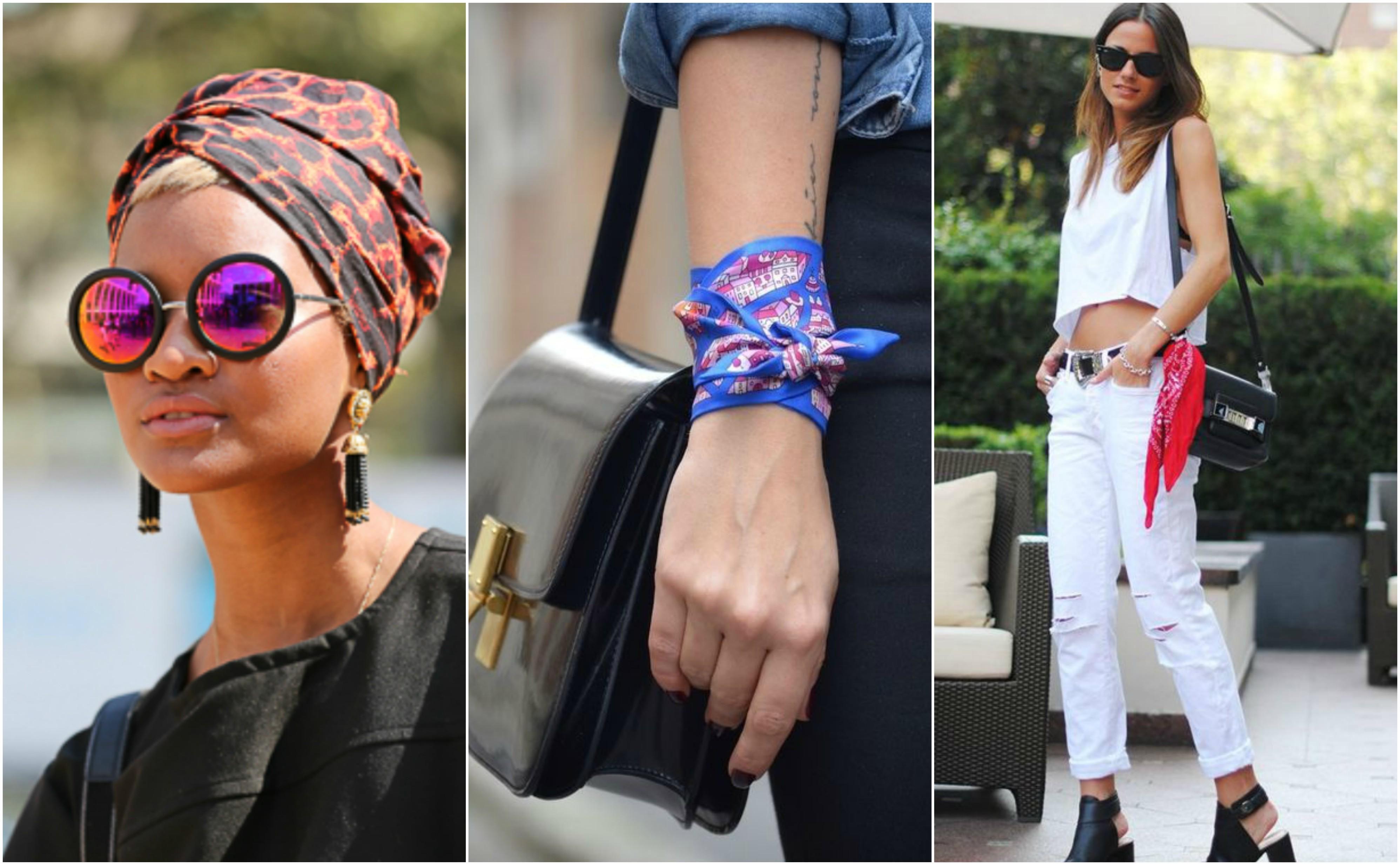5 Formas de usar un Pañuelo   Blog de Moda Costa Rica